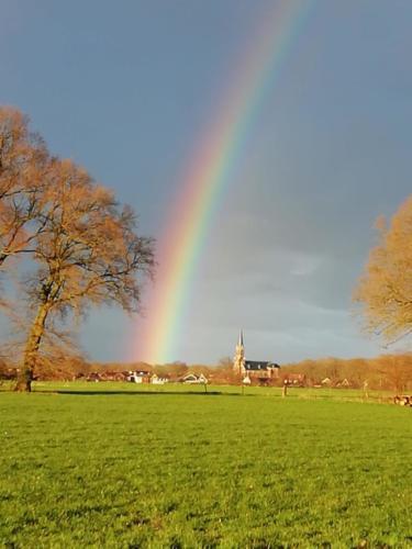 Regenboog boven Vasse