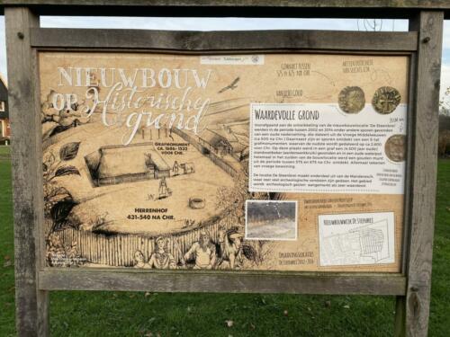 Nieuwbouw op historische grond